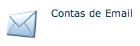 """Item """"Contas de E-mail"""" localizado na aba E-mails do cPanel."""